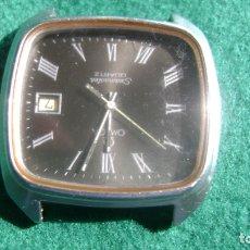 Relojes - Omega: OMEGA SEAMASTER CUATZO MOV 1342 FUNCIONANDO DIAL MUY RARO VER FOTOS. Lote 178653310