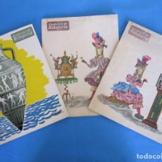 Relojes - Omega: CUADERNOS DE RELOJERÍA. REVISTA EDITADA POR EL CONCESIONARIO DE OMEGA EN ESPAÑA. 1955 NªS 3 - 4 Y 5 . Lote 178655411