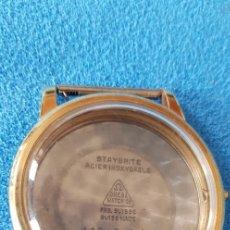Relojes - Omega: 139-CAJA OMEGA CHAPADA, FONDO ACERO INOX,14703-2 SC-R/. Lote 178663237