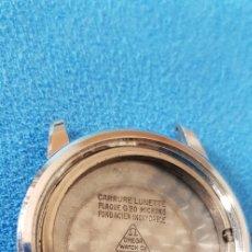 Relojes - Omega: 140-CAJA OMEGA CROMADA G, 20 MICRONES, TAPA ACERO REF. 14702-2 SC R/. Lote 178664596