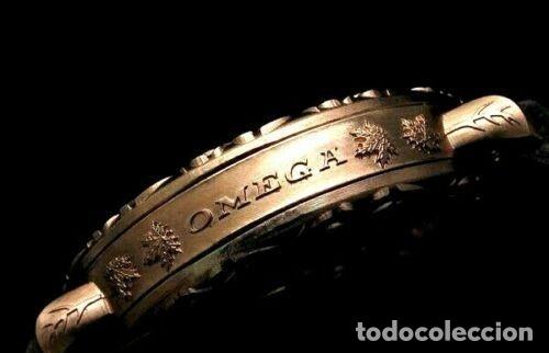 Relojes - Omega: RELOJ OMEGA AÑO 1920. ÚNICO. ORO ROSA. CAJA de .44mm. ESQUELETO. MODIFICADO - Foto 7 - 178827465