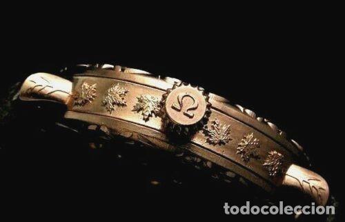 Relojes - Omega: RELOJ OMEGA AÑO 1920. ÚNICO. ORO ROSA. CAJA de .44mm. ESQUELETO. MODIFICADO - Foto 8 - 178827465