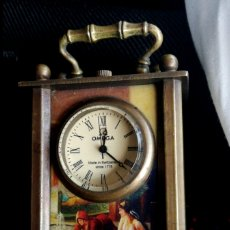 Relojes - Omega: RELOJ OMEGA DE VIAJE ANTIGUO. FUNCIONANDO MUY BIEN.. Lote 180148293