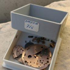 Relojes - Omega: M4 DESPIECE RELOJ OMEGA CAL 712 PIEZAS GENUINAS. Lote 180180480