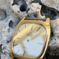 Relojes - Omega: CAJA RELOJ OMEGA VINTAGE NUEVA QUARTZ COMPLETA. Lote 181141885