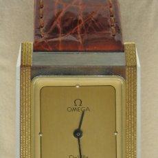 Relojes - Omega: RELOJ OMEGA CAJA DE ACERO Y ORO. UNISEX CASI NUEVO. Lote 181825216