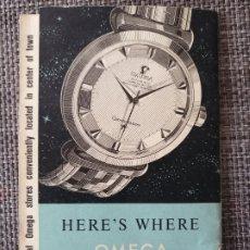 Relojes - Omega: PUBLICIDAD RELOJES OMEGA - JUVENIA - BLANCPAIN - TIENDAS OMEGA EN GINEBRA - SUIZA AÑOS 30-40. Lote 182850803
