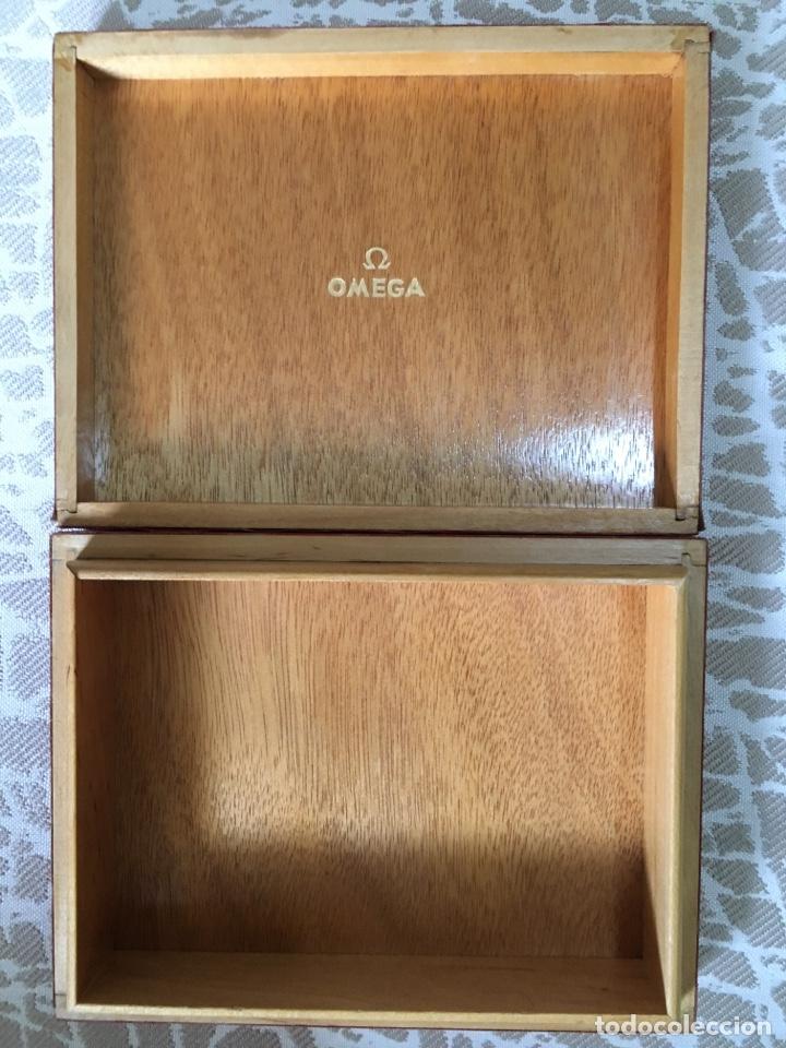 Relojes - Omega: Caja madera reloj omega - Foto 4 - 183086816