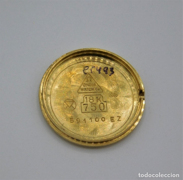 Relojes - Omega: OMEGA-RELOJ JOYA-PULSERA DE ORO 18K-DE DAMA-QUARZ - Foto 4 - 183277068