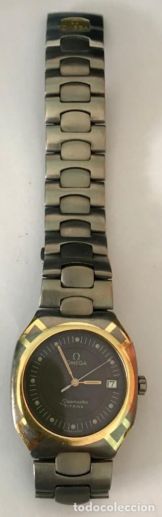 Relojes - Omega: RELOJ OMEGA SEAMASTER TITANIO ORO - Foto 2 - 183570170