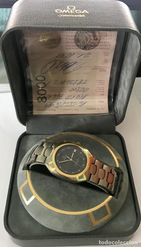 Relojes - Omega: RELOJ OMEGA SEAMASTER TITANIO ORO - Foto 5 - 183570170
