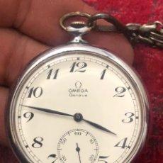 Relojes - Omega: RELOJ BOLSILLO OMEGA ANTIGUO EN EXCELENTE ESTADO Y FUNCIONA PERFECTAMENTE- VER LAS FOTOS. Lote 183578947