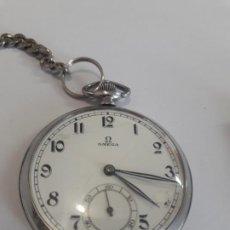 Relojes - Omega: RELOJ DE BOLSILLO OMEGA DE CARGA MANUAL. Lote 183808575