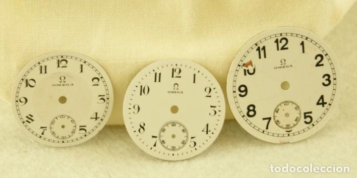 Relojes - Omega: LOTE DE 3 ESFERAS OMEGA ESMALTE - Foto 3 - 187612932
