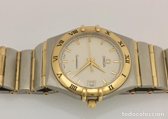 Relojes - Omega: OMEGA CONSTELLATION ORO 18KTy ACERO.COMO NUEVO. - Foto 2 - 189602496