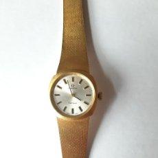 Relojes - Omega: RELOJ OMEGA DE ORO. SEÑORA. 18 QUILATES. AÑOS 70. DE CUERDA.. Lote 190043677