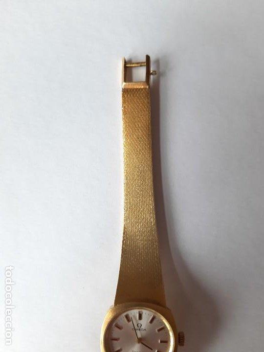 Relojes - Omega: RELOJ OMEGA DE ORO. SEÑORA. 18 QUILATES. AÑOS 70. DE CUERDA. - Foto 5 - 190043677