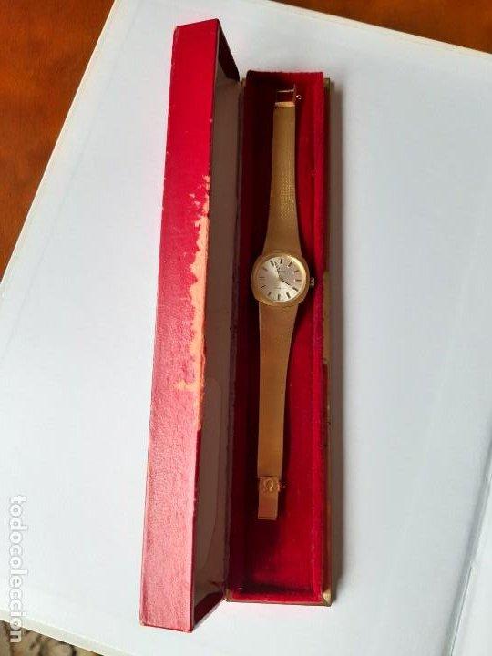 Relojes - Omega: RELOJ OMEGA DE ORO. SEÑORA. 18 QUILATES. AÑOS 70. DE CUERDA. - Foto 7 - 190043677