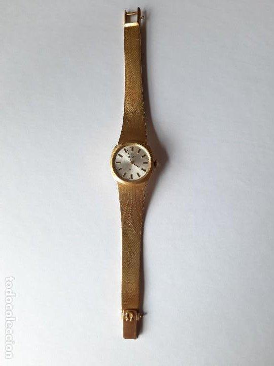 Relojes - Omega: RELOJ OMEGA DE ORO. SEÑORA. 18 QUILATES. AÑOS 70. DE CUERDA. - Foto 9 - 190043677