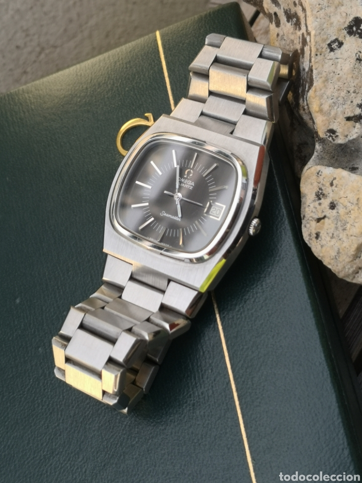 Relojes - Omega: ✨U/19 Reloj vintage Omega Seamaster Cuarzo NUEVO - Foto 2 - 190630280