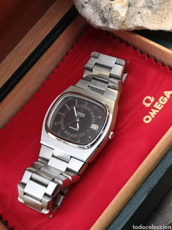 Relojes - Omega: ✨U/19 Reloj vintage Omega Seamaster Cuarzo NUEVO - Foto 4 - 190630280