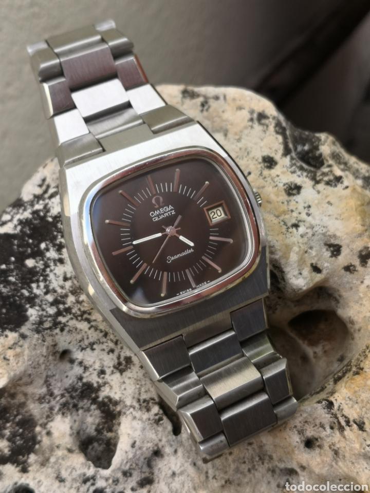 Relojes - Omega: ✨U/19 Reloj vintage Omega Seamaster Cuarzo NUEVO - Foto 6 - 190630280