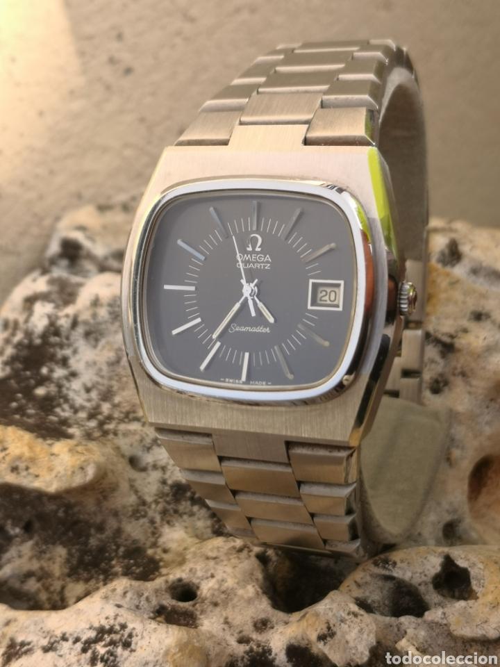 Relojes - Omega: ✨U/19 Reloj vintage Omega Seamaster Cuarzo NUEVO - Foto 7 - 190630280
