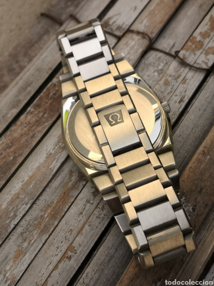 Relojes - Omega: ✨U/19 Reloj vintage Omega Seamaster Cuarzo NUEVO - Foto 11 - 190630280