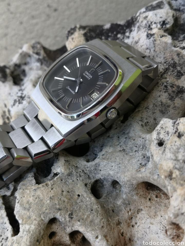 Relojes - Omega: ✨U/19 Reloj vintage Omega Seamaster Cuarzo NUEVO - Foto 12 - 190630280