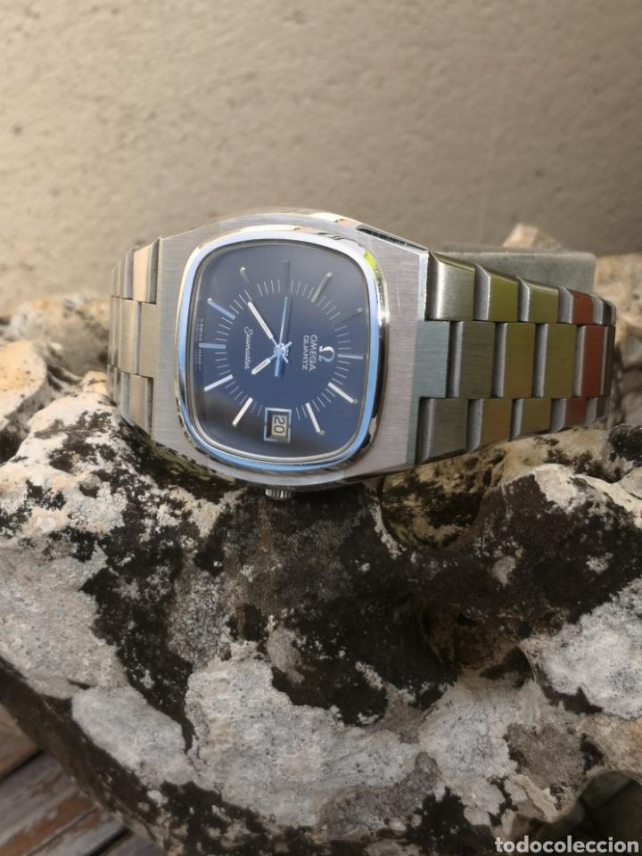 Relojes - Omega: ✨U/19 Reloj vintage Omega Seamaster Cuarzo NUEVO - Foto 13 - 190630280