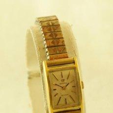 Relojes - Omega: OMEGA MECANICO DE DAMA CHAPADO EN ORO FUNCIONANDO. Lote 192462105