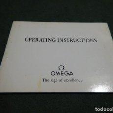 Relojes - Omega: MANUAL OMEGA AÑO 1992. Lote 193442025