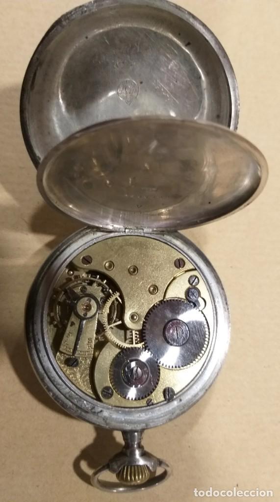 Relojes - Omega: RELOJ OMEGA 2 TAPAS DE PLATA. - Foto 3 - 117348919