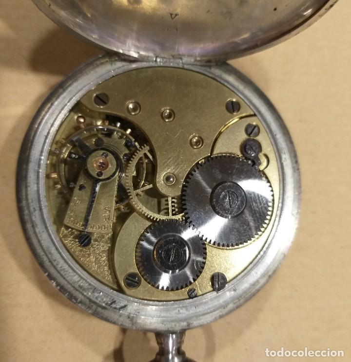 Relojes - Omega: RELOJ OMEGA 2 TAPAS DE PLATA. - Foto 4 - 117348919
