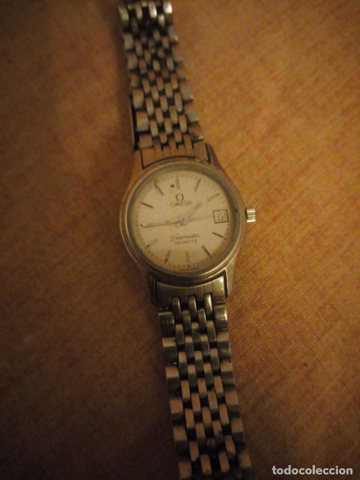 Relojes - Omega: reloj omega seamaster quartz,señora ,hora y data - Foto 2 - 193971073