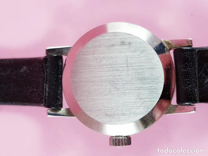 Relojes - Omega: RELOJ-OMEGA GENEVE-SEÑORA-20,5+22,5 MM-PRECIOSO-ESFERA VIOLÁCEA-COMO NUEVO O SIMILAR - Foto 7 - 194695746