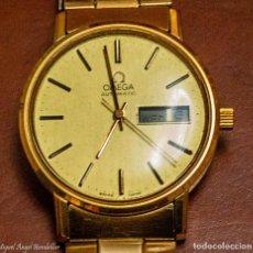Relojes - Omega: RELOJ SUIZO OMEGA AUTOMATIC CHAPADO EN ORO, PERFECTO ESTADO DE MARCHA Y ESTÉTICO. Lote 195233505