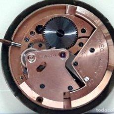 Relojes - Omega: MOVIMIENTO OMEGA AUTOMÁTICO DE MARTILLO (BUMPER) CALIBRE 344 AÑOS 50 CON ESFERA, AGUJAS Y CORONA. Lote 195681147