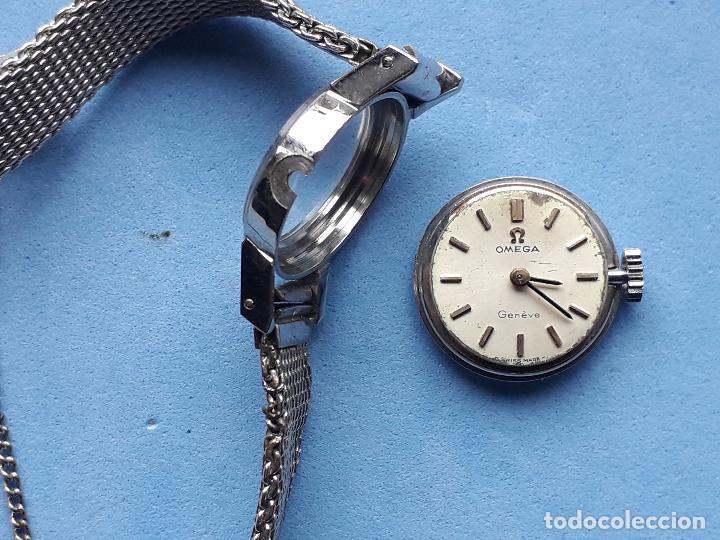 Relojes - Omega: Reloj Marca Omega Geneve. Clásico de dama. Funcionando. - Foto 7 - 196058458