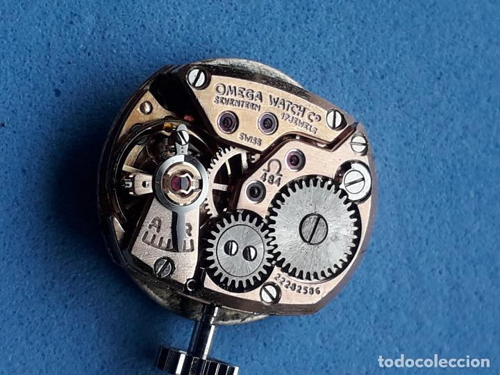 Relojes - Omega: Reloj Marca Omega Geneve. Clásico de dama. Funcionando. - Foto 10 - 196058458