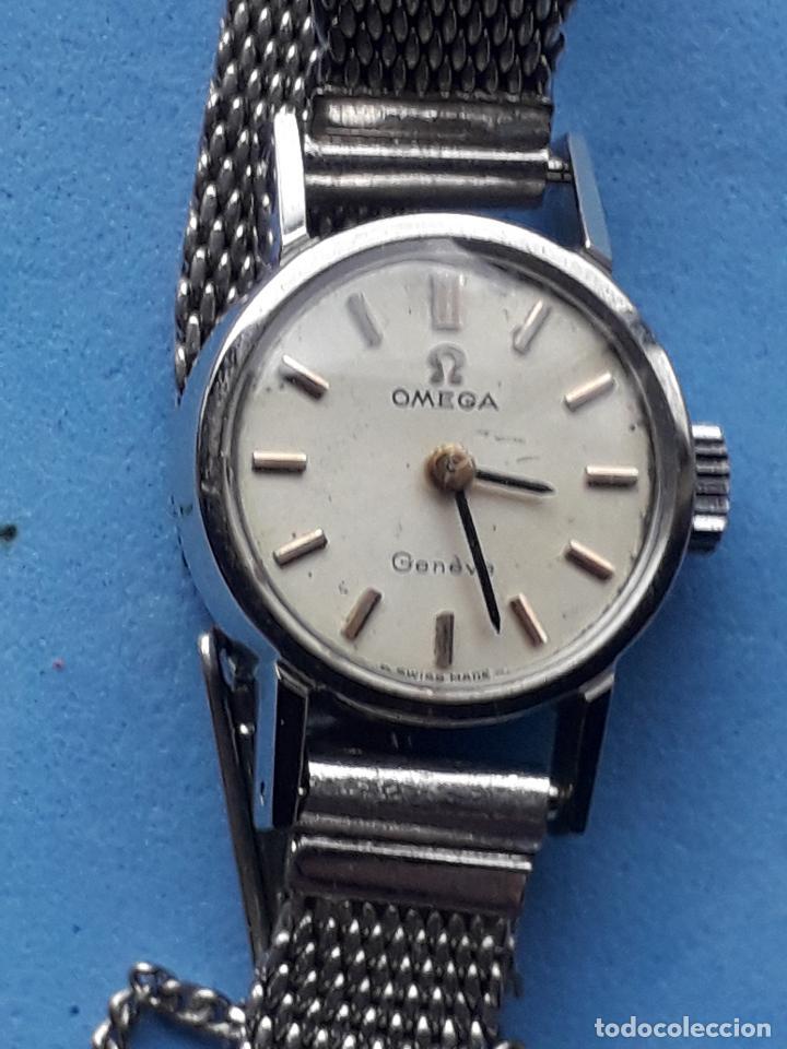 Relojes - Omega: Reloj Marca Omega Geneve. Clásico de dama. Funcionando. - Foto 11 - 196058458