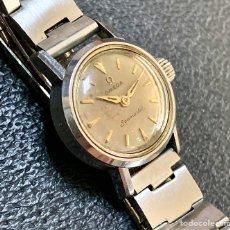 Relojes - Omega: RELOJ OMEGA SEAMASTER LADY MECÁNICO AÑOS 60 FUNCIONANDO. Lote 196565358