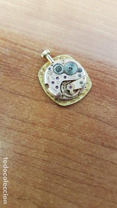 Relojes - Omega: Máquina de reloj OMEGA de cuerda manual, calibre Omega 625, Esfera oro muy buena y agujas originales - Foto 10 - 199400655