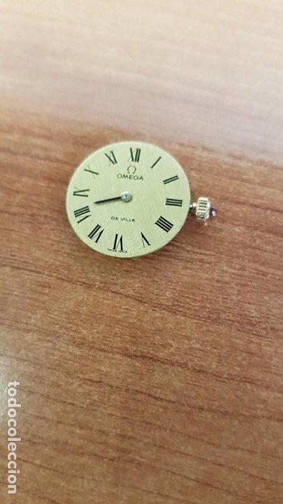 Relojes - Omega: Máquina reloj OMEGA de cuerda manual, calibre Omega 625, Esfera oro muy buena y una aguja original - Foto 2 - 199418158