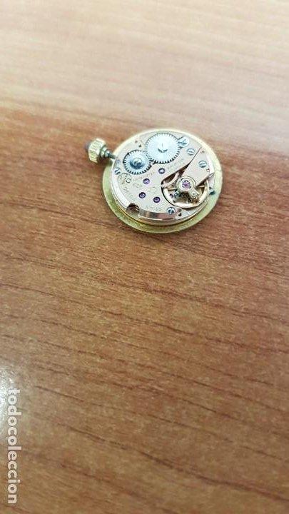 Relojes - Omega: Máquina reloj OMEGA de cuerda manual, calibre Omega 625, Esfera oro muy buena y una aguja original - Foto 4 - 199418158