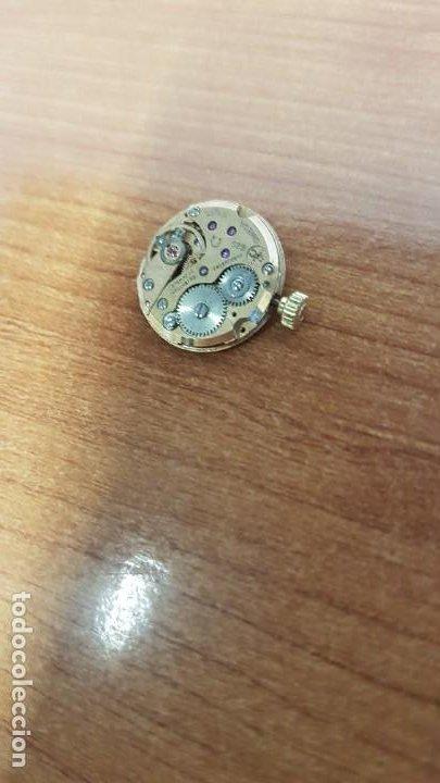 Relojes - Omega: Máquina de reloj OMEGA de cuerda manual, calibre Omega 625, sin esfera, corona con anagrama,original - Foto 2 - 199466488