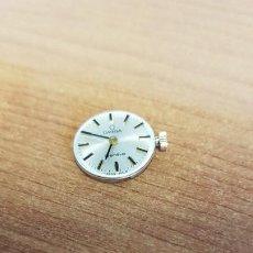 Relojes - Omega: MÁQUINA DE RELOJ OMEGA DE CUERDA MANUAL, CALIBRE OMEGA 625, ESFERA BLANCA BUENA Y AGUJAS ORIGINALES.. Lote 199467207