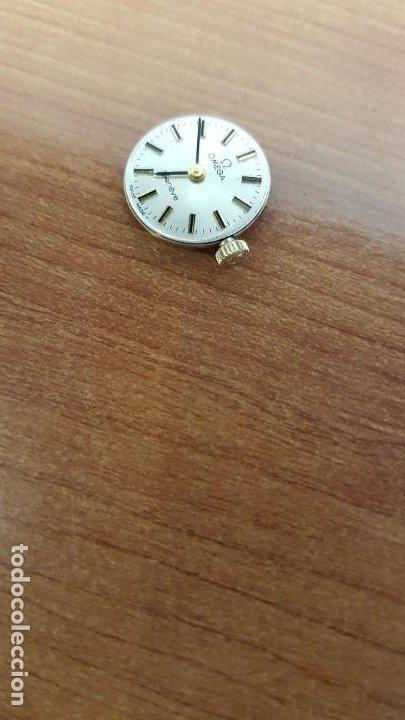 Relojes - Omega: Máquina de reloj OMEGA de cuerda manual, calibre Omega 625, Esfera blanca buena y agujas originales. - Foto 8 - 199467207