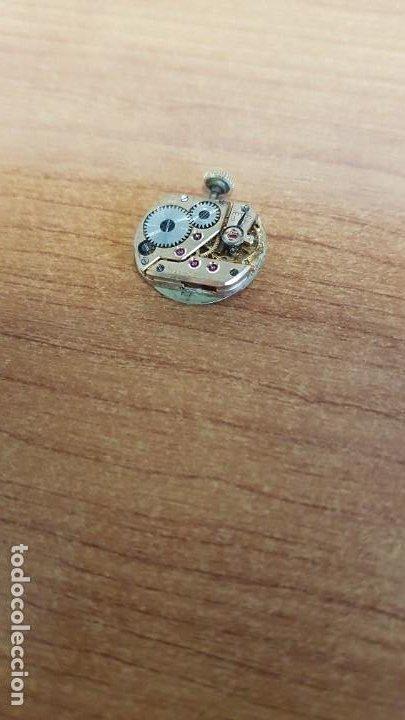 Relojes - Omega: Máquina de reloj OMEGA de cuerda manual, calibre Omega 244, Esfera blanca buena y agujas originales. - Foto 6 - 199467873