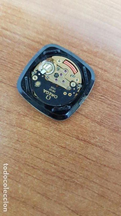 Relojes - Omega: Máquina de reloj OMEGA de cuarzo, calibre Omega 1365, Esfera color blanca con agujas originales. - Foto 3 - 199664246